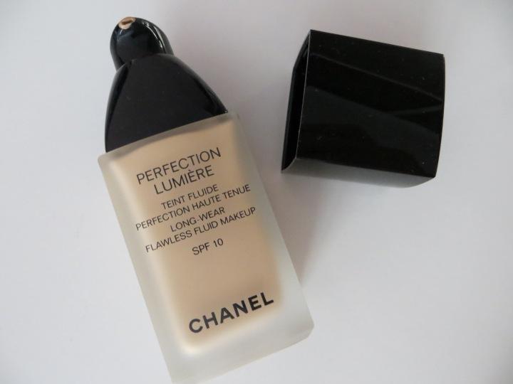 Haul de produits Chanel petite folie electricmindweb fond de teint perfection lumiere