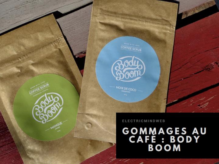 Body Boom : le gommage au café!